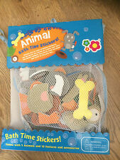 Meadow Kids Animal Bath Time Stickers x46 pieces Educational Toy Activity Scene