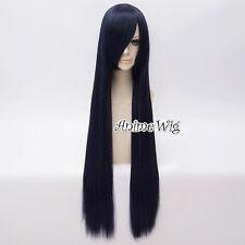 US Ship 21 Colors Fashion Women Lady 100CM Long Straight Basic Cosplay Wig+Cap