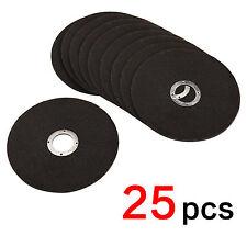 25pcs Disques A Tronconner Pour Meuleuse Tronconneuse 115Mm Acier Metal