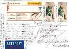 Briefmarken aus Deutschland (ab 1945) mit Mehrfachfrankatur für Post, Kommunikation