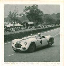 Publicité ancienne voiture 24 heures du Mans 1951 issue de magazine