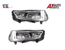 NEW FRONT BUMPER FOG LIGHTS LAMPS SET L & R FOR VW POLO MK8 6R 2009-2014