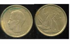 BELGIQUE  20 francs  1980  ( belgie)