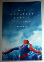 THE AMAZING SPIDER-MAN 2 SPIDERMAN DOUBLE SIDED B&W COLORING MOVIE 11x17 POSTER