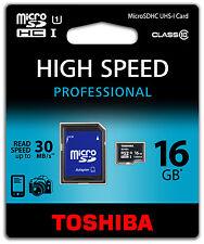 Schede di memoria per fotocamere e videocamere Universale da 16 GB