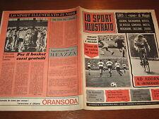 LO SPORT ILLUSTRATO GAZZETTA 1965/19 LIVERPOOL INTER AGOSTINI POSTER MESSINA