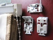 Roman Blind fixing brackets x3 for Side Chain Control Roman Fits Hillarys etc