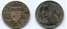 Gertbrolen Ile de La Réunion   ESSAI  Nickel 100 Francs 1964 Exemplaire Numéro 1
