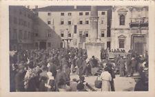 * UDINE - Durante l'invasione - Piazza delle Erbe