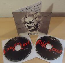 MADONNA : REBEL HEART Sampler + LIVING FOR LOVE The Remixes - 2014  2CD Promo
