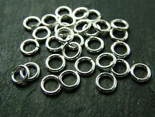 10 Sterling Silver 5mm Jump Rings