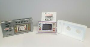 Nintendo Game & Watch Snoopy Tennis Wide Screen Boxed SP-30 1982