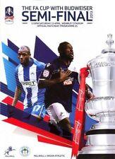 Millwall FA Cup Home Teams L-N Football Programmes