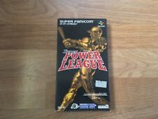 SUPER POWER LEAGUE SUPER FAMICOM NTSC-J Japan Import