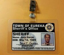 Eureka Id Badge - Sheriff Jack Carter cosplay prop costume