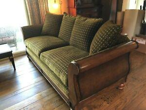 Used vintage sofa and loveseat set