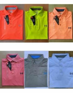 Under Armour Men's UA  Solid  2.0 Golf Soft Breathable Light Polo Shirt -Seconds