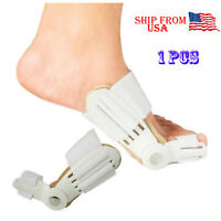 Hallux Valgus Big Toe Bunion Straightener Splint Corrector Pain Relief US SHIP