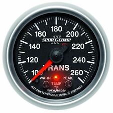 FITS FORD DODGE CHEVY AUTO METER SPORT-COMP II TRANSMISSION TEMPERATURE GAUGE.1