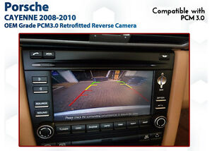 Porsche Cayenne - PCM3.0 Reverse Camera Integration service - Melb