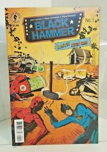 Black Hammer #1 - Cover B (2016) - 9.0 VF/NM - Lemire/Ormston - Dark Horse