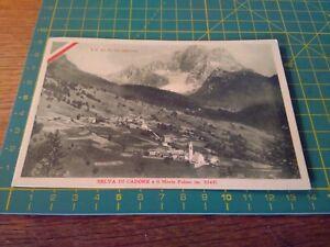 150226 vecchia cartolina selva di cadore il monte pelmo le alpi gloriose