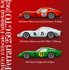Model Factory Hiro 1/12 Multimedia Kit - Ferrari 250 GTO Ver.a Sarthe 24hrs 1962