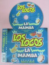 CD singolo LOS LOCOS LA MAMBA 2001 NSCD193 no lp mc vhs dvd (S19)