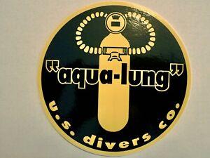 US Divers Tank Decal Reproduction  Vintage Scuba Sticker