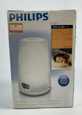 Philips HF3470 Wake-Up Natural Light Alarm Radio Clock VGC With Reprinted Manual
