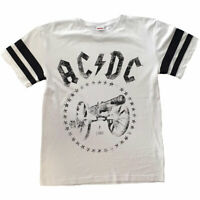 AC/DC 'For Those About To Rock' Jersey Style T-Shirt *Official Merchandise*