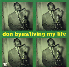 DON BYAS - LIVING MY LIFE (1989 JAZZ CD COMPILATION FRANCE)