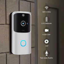 Wireless WiFi Video Doorbell Smart Door Ring Intercom Security 720P Camera Bell