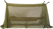US MILITARY ARMY INSECT NET BAR MOSQUITO NO SEE-UM MESH COT TENT COVER USGI VGC