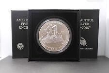 2011 America The Beautiful 5oz Vicksburg Mississippi Silver Coin999 Fine NO COA