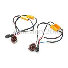 2pcs 50W 3157 LED Error Free Canbus Fog Load Resistors Wiring Harness Decoder