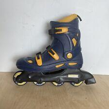 New listing Vintage CCM ONSO Inline Skates Rollerblades Blue Size 10