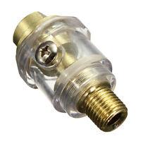 "Druckluftoeler Minioeler 6mm Druckluft 1/4"" Leitungsoeler oelnebler oeler P X1F0"