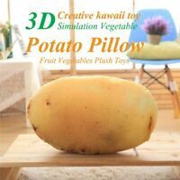 Latest Hot Product Ideas Kawaii Toys 3D Simulation Vegetables Potato Pillow B2Q1