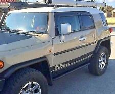 Toyota FJ Cruiser Door Stripe Decal - Vinyl - Matte Black - 1 Pair