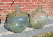 More details for  (#779) 2 x glass jars garden terranium carboy demijohn  (pick up only)