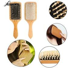 Wooden Massage Hair Comb Natural Care Brush Brush Wood Massager Beauty Tools