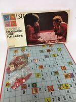 Vintage Scrabble Crossword for Juniors 1975 Selchow & Righter Edition 4 No. 18