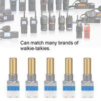 5X Volume Control Rotate Switch Knob for Baofeng Kenwood Motorola Walkie Talkie