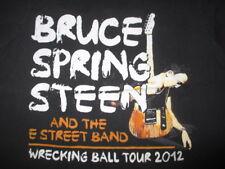 2012 BRUCE SPRINGSTEEN Wrecking Ball Concert Tour (LG) T-Shirt
