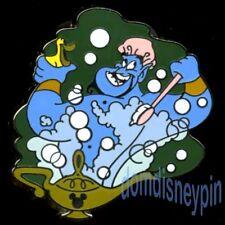 Disney Pin WDW 2015 Hidden Mickey *Genie Scenes (Aladdin)* Bubble Bath Genie!