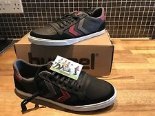 Hummel Slimmer Stadil Duo Oiled Low Leather Men's Sneakers UK 10.5 - NEW
