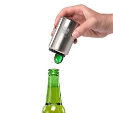 Stainless Steel Zap Cap Bottle Opener Crown Caps Beer Push n Pop By Cellardine