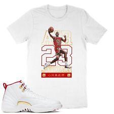 Basketball 23 Unisex T-Shirt Match Air 12 Retro FIBA 'Love the Game'
