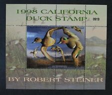 CKStamps: US State Duck Stamps Collection California Scott#29 Mint NH